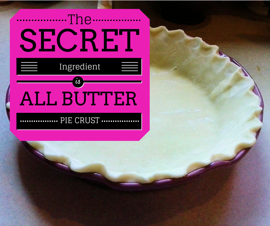 All Butter, Really Flaky Pie Dough Recipe — Dishmaps
