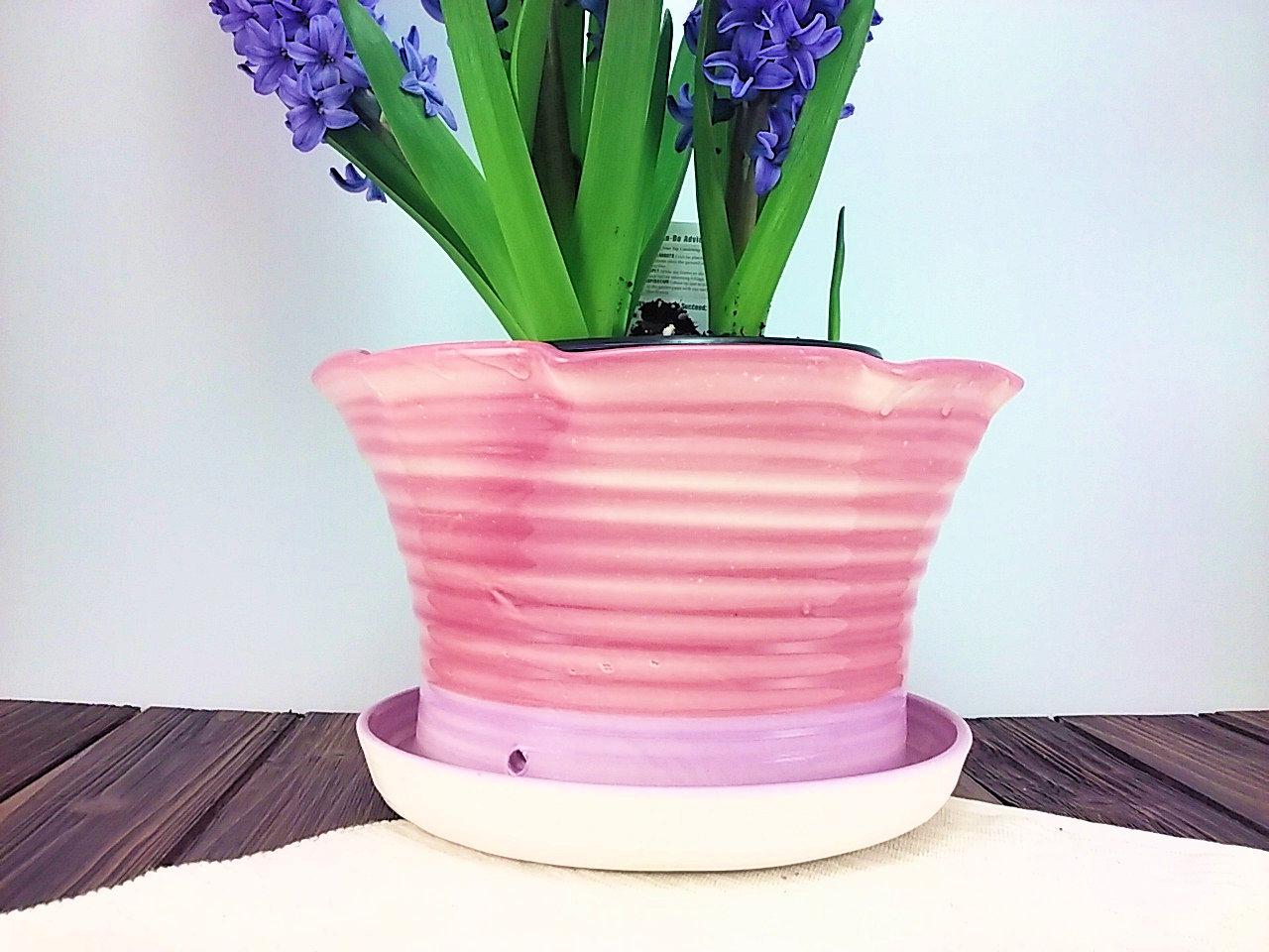 & Handmade Ceramic Flower Pot