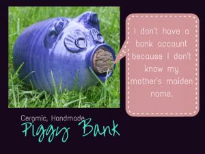 pottery Handmade Piggy Bank 3