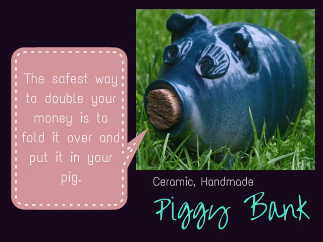 Ceramic Handmade Piggy Bank