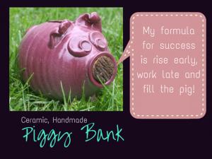 pottery Handmade Piggy Bank 5