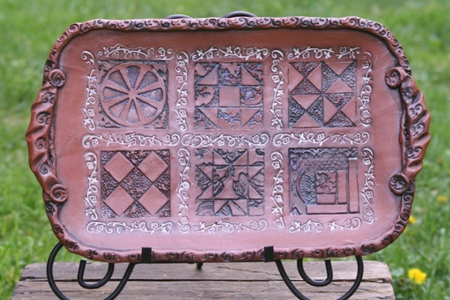 Underground Railroad Quilts Platter