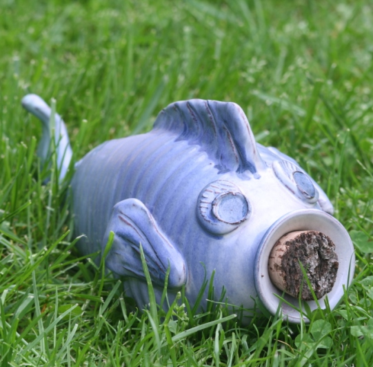 Fish shaped 'Piggy' Bank