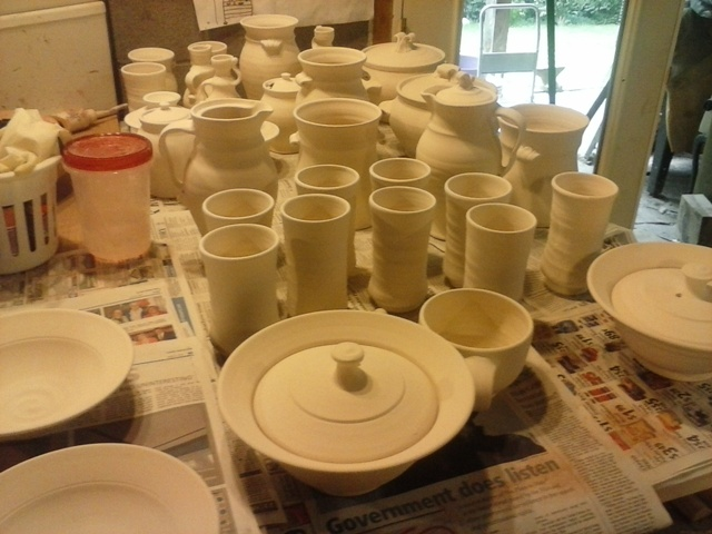 pottery ready to paint