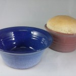 Blue Bread Baking Bowls