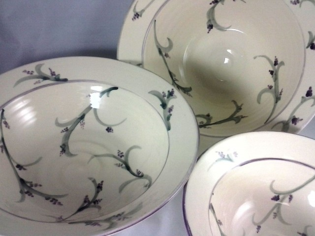 New work: Lavender Breeze Bowls