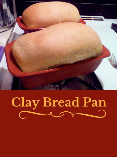 Clay Bread Pan