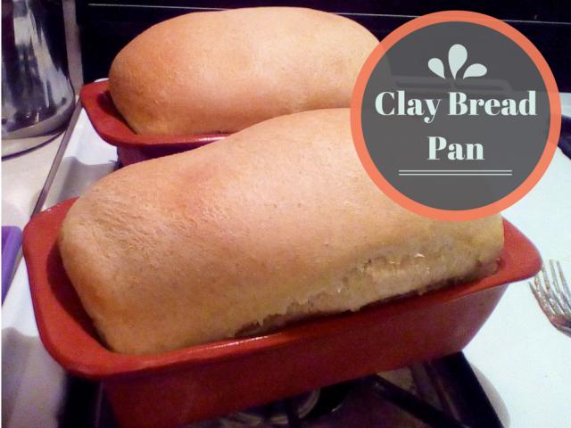 Pottery Clay Bread Pan