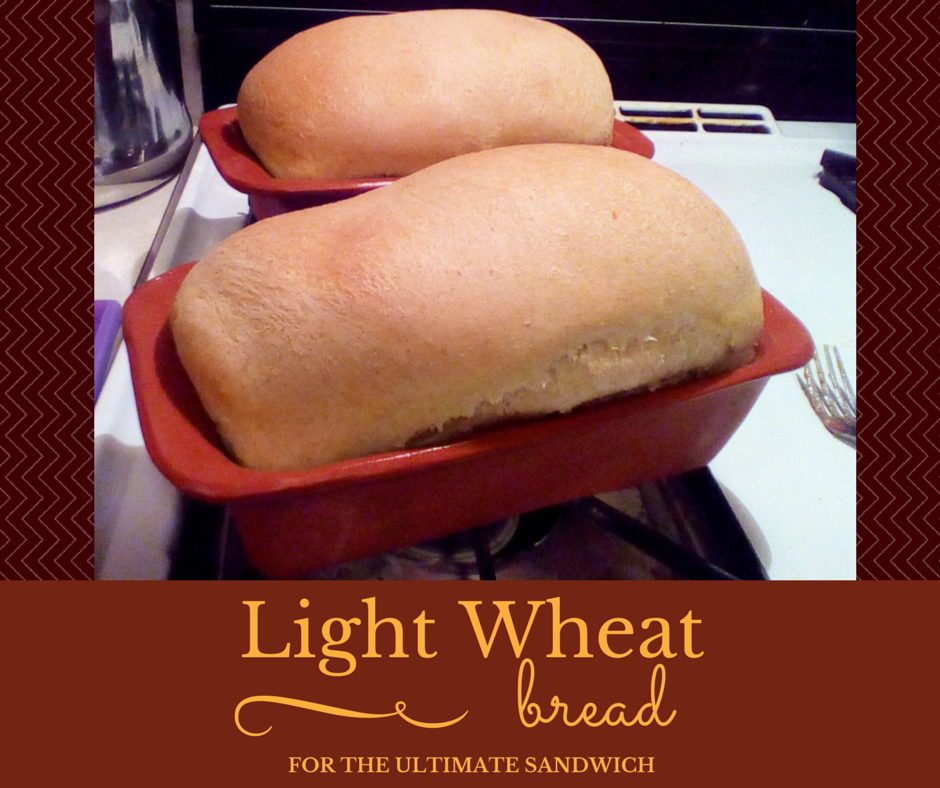 Wheat sandwich bread recipe