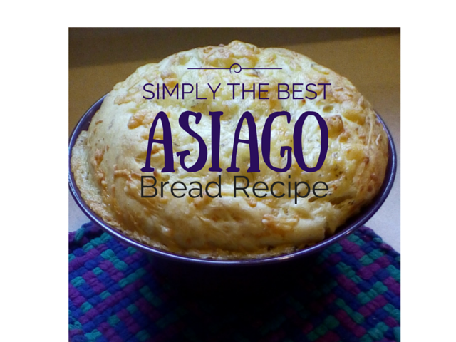 Asiago Bread Recipe