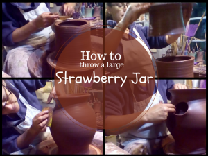Video series- Throwing a Strawberry Planter Jar