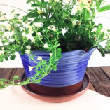 Blue Large Ceramic Planter