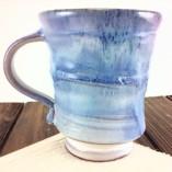 Flowing Blue Coffee Mug